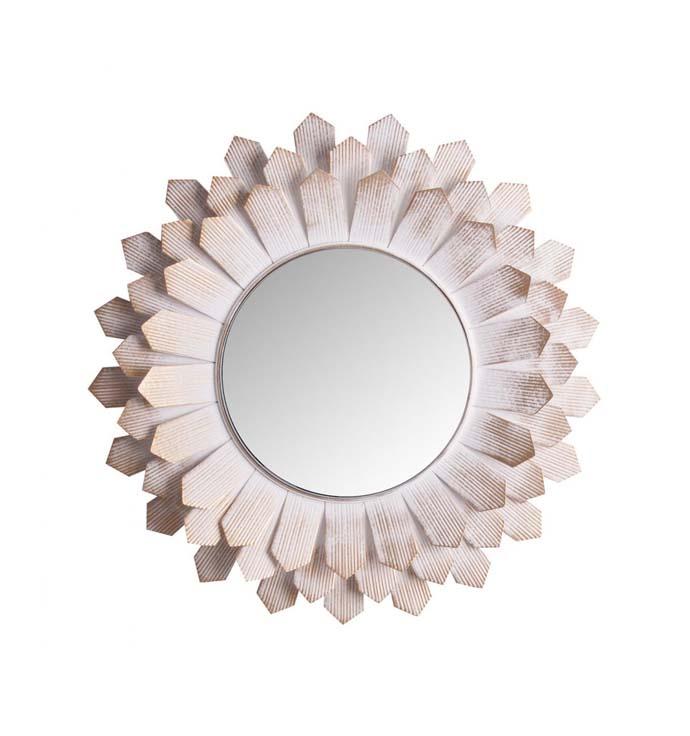 espejo flor