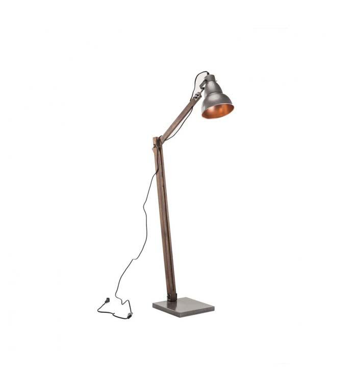 lampara pie escritorio